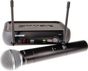 Микрофон SHURE PGX24/SM58 проф.радиосистема.КЕЙС(  не рынок)