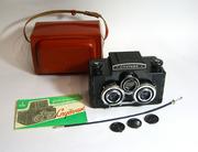 Продаётся советский стерео фотоаппарат Спутник.Цена  9 тыс.рублей.