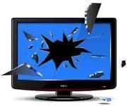 Телевизоры LCD,  плазменные,  в неисправном состоянии,  можно разбитые.