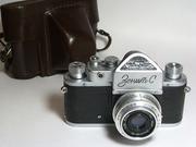 Продаются фотоаппараты СССР и Германии.Объективы.