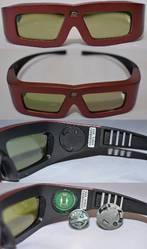 3D очки для проектора 3D DLP (Аналог Xpand X102). Оптом и в розницу!