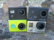Экшн камеры в GoPro,  SJCam,  Xiaomi в Новосибирске